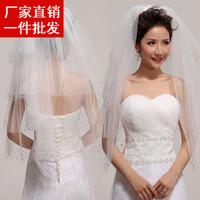 2014 married high quality paillette veil bridal veil ts01