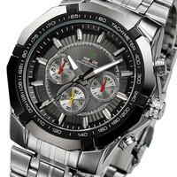 2014 WEIDE brand business style Original JAPAN movement quartz watch, military watches,men full steel watch
