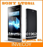 unlocked Brand LT26ii original Sony Xperia SL LT26ii Android OS 32GB 12MPcamera Dual-core 3G GPS Wifi warranty