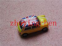 Hot Selling Real Full Capacity 2gb 4gb 8gb 16gb 32gb 64gb gift Metal Car Model USB Flash Drive uk yellow Mini jeep car gifts box