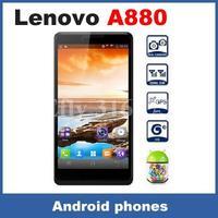 2014 New Lenovo A880 6.0&quot IPS MTK6589M Quad Core 1331MHz Dual SIM 72 Language 5.0 MP Camera Android 4.2 Smart Phone