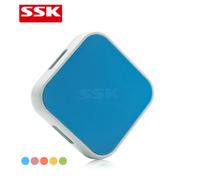 Wang Biao SSK Multicolor SHU029 high-speed computer hub USB HUB  Four splitter high-speed 480 Mps Free shipping