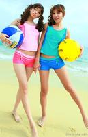 New Women Sports Swimsuit Tankinis Set Summer Swimwear