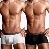 Hot sale 4 PCS /lot Men Boxer Shorts Modal Comfortable Men's Boxers Mens underwear 4colors