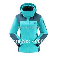 2014 DZRZVD Brand Women Windbreaker Autumn & Spring Outdoor Jacket Women Casual Sports Waterproof Hiking Climbing Coat Clothing