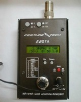 Ham radio shortwave radio HF UV 1.5-490MHZ 3-band AW07A Antenna Analyzer