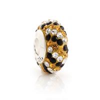 Sz228 925 pure silver jewelry diy beads white big bead silver beads