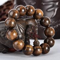 Natural dark wood bracelets rosary dark wood beads accessories bracelet male women's
