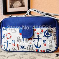 Color block 2014 casual canvas messenger bag small bags fashion shoulder bag cross-body handbag coin purse new arrivel hot sell