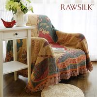 Sofa towel  Sofa cover slip-resistant sofa cushion fabric sofa blanket