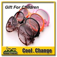 New 2014 Great Quality Boys Girls Large Sunglasses 100% UV 400 Children Colorful Fashion Bow Sunglasses for Kids Sunglasses