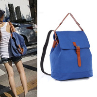 2014 New arrival women canvas backpack school bags student backpack woman travel bag free shipping