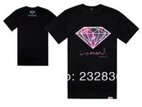 Diamond Supply t shirt men fashion brand shirts black summer hip hop t-shirt sport men's cotton tops size S-XXXL free shipping
