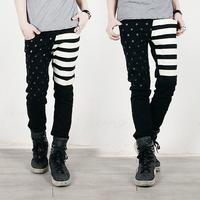 Small 3 male denim skinny pants  free shipping
