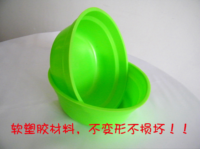Rubber food pots banliao bait pots basin fish food bowl fishing lure basin fishing tackle supplies(China (Mainland))