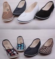 Woman fashion Nurses models canvas shoes, a large wholesale and retail, 8color, EU S ize :35-40, Free Shipping