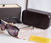 2014 Wholesale EVIDENCE Sunglasses Millionaire Sun Glasses men women sunglasses Black color with original box Free Shipping