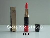CC Brand cosmetics makeup, makeup  2 in 1 lipstick + lip gloss (2pcs/lot) free shipping