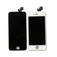 Free shipping New LCD Display Screen with Touch Digitizer Panel Assembly For iPhone 5 5G Black / White 5G LCD Set
