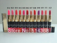 CC Brand cosmetics makeup, makeup  2 in 1 lipstick + lip gloss (12pcs/lot) free shipping
