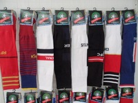 2014 World Cup Professional player version spell color towel at the end of football boots knee socks men wholesale.Free shipping