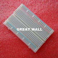 Free Shipping!  Quality mini bread board / breadboard 8.5CM x 5.5CM 400 holes Bread plate