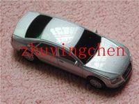 2gb 64gb Hot Selling Real Full Capacity 4gb 8gb 16gb 32gb Metal Car Model USB Flash Drive Free shipping gifts box gift u stick