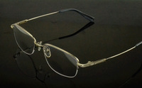 Ultra-light memory eyeglasses frame male Women myopia glasses frame double frame glasses deformation