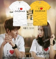 Gold lovers t-shirt white california Male and female short-sleeved cotton T-shirt  size S-XXXL