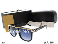 Free shipping 2014 hot sale style women sunglasses outdoor eyeglasses best quality brand design glasse with boxes AA194