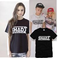 New Men's clothing female clot lovers shade london box male Women 100% cotton short-sleeve t-shirt  Men fashion o-neck  T-shirt