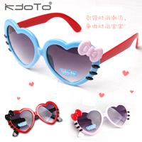 5Pcs/Lot Lovely Child heart shaped sunglasses love child sun-shading mirror sun glasses Free Shipping