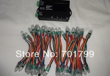 50pcs DC5V 12mm WS2821A DMX512 LED pixel node+WS2821 DMX address writer(China (Mainland))