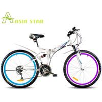 5 fashion folding bike 26 mountain bike 21 transmission for bicycle hot-selling