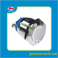 IP67 19mm momentary waterproof metal push button switch 220V  electric switch manufacturers