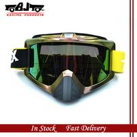 MG-013A   Flexible Reflective UV Lens Motorcycle Accessories  Motocross MX  snowboard ski eye Glasses  Goggles eyewear
