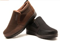 2014 new winter shoes , men's fashion warm, soft and comfortable lightweight cotton business big yards boots, free shipping