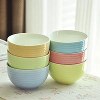 5 1 . 4.5 salad bowl rice bowl ceramics lovers tableware microwave
