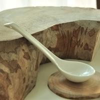 Hot-selling . high quality white bone china ceramics little swan spoon tableware spoon