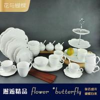 Fashion beautiful lusterware dinnerware set . high quality gift box configuration