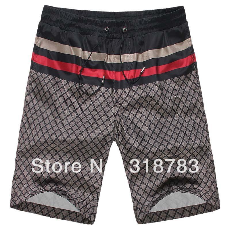 2014 Summer Italy Designer New Style Hotsale Men Casual Beach Fashion Leisure Shorts Trousers Male Beach Swimwears Shorts M-XXL(China (Mainland))