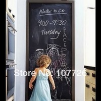 Vinyl Blackboard Home Sticker, Removable Wall Decal, Chalkboard Stickers, 45CM*200CM /Piece