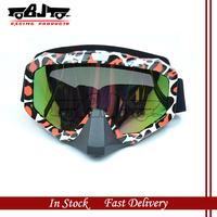 MG-014A  Flexible Reflective UV Lens motorcycle motorbike ATV  snowboard ski eye Glasses Motocross MX Goggles eyewear