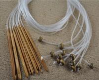 1.2m Length 12 Sizes Afghan Tunisia Bamboo Needle Blanket Crochet Hooks