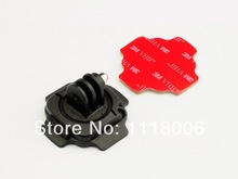 Mouse over image to zoom 360 Degree Mount 3M Sticker for Gopro Accessories HD Camera Hero 1 2 3 3+ BLACK