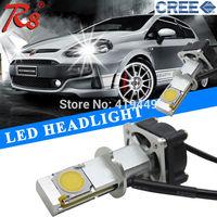 2HL1800LM Car Cree H3 LED Headlight Bulb Conversion Kit 50w Next Generation of Headlight