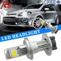 Next Generation Car White CREE LED 3600LM 50W LED Headlights H4 Bulb High Beam / Low Beam Together Dual Lamps good quality