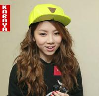 Neon trigonometric 2014 hater flat brim trend sunscreen hip-hop baseball cap female cap hiphop