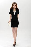 Free shipping new 2014 women clothing fashion business suits formal office uniform style blazer women work wear