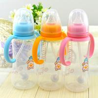 Rikang rk-3069 240ml circular shank pp automatic  infant  bottle